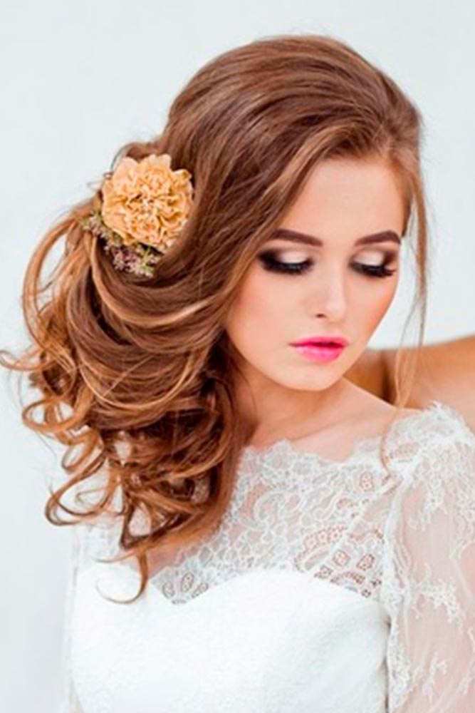 Embellished with Flowers Hairstyles picture 6