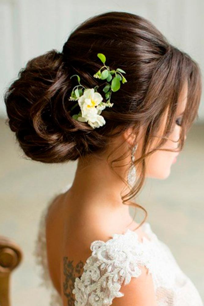 Embellished with Flowers Hairstyles picture 4