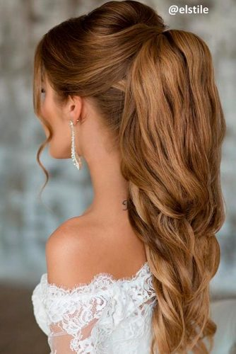 Luxury Wedding Hairstyle for Long Hair picture 6