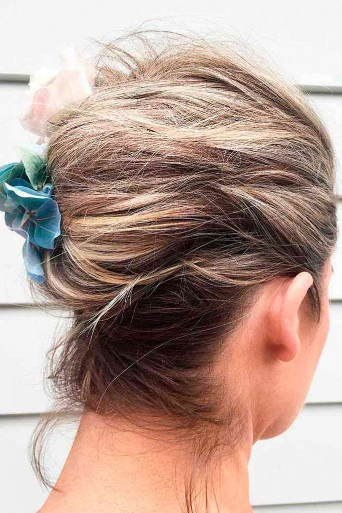 Messy French Twist #frenchtwist #classicupdos