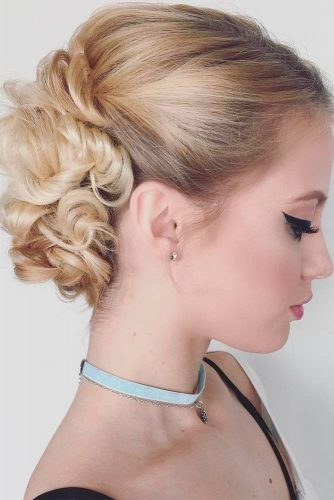Cute Short Hairstyles for Beautiful Brides picture 3