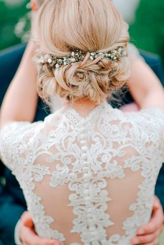 Sweety Wedding Hairstyles for Charming Brides picture 2
