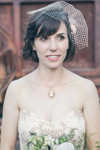 Sweety Wedding Hairstyles for Charming Brides picture 5