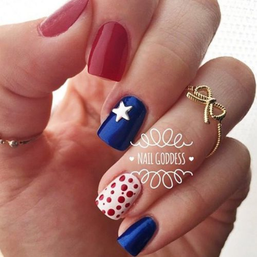 Patriotic Mani Ideas picture 1