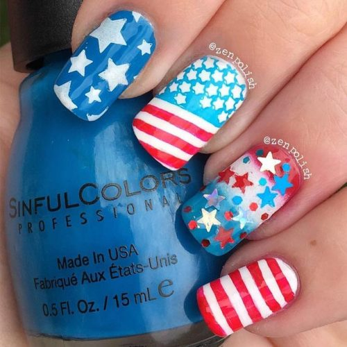 Patriotic Mani Ideas picture 2