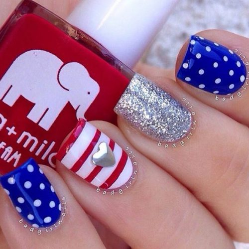 Patriotic Mani Ideas picture 4