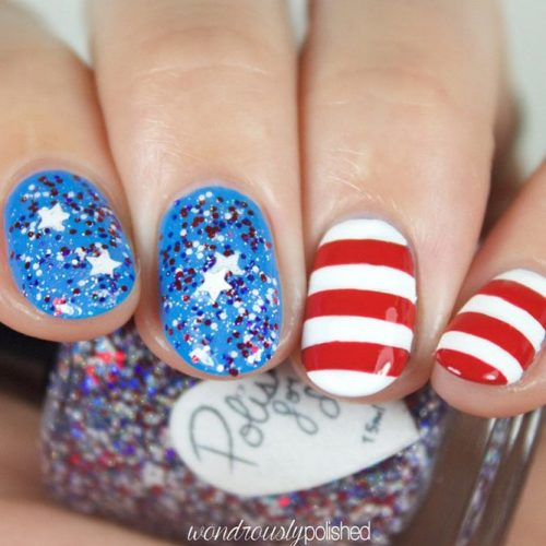 Patriotic Mani Ideas picture 5