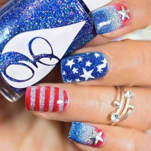 Patriotic Mani Ideas picture 6