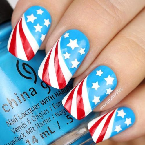 Fun Patriotic Nail Designs picture 1