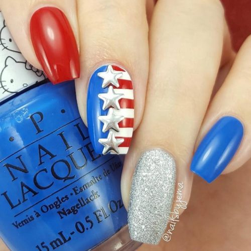 Fun Patriotic Nail Designs picture 3