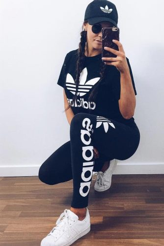 Comfy Adidas Pants Outfit Ideas picture 1