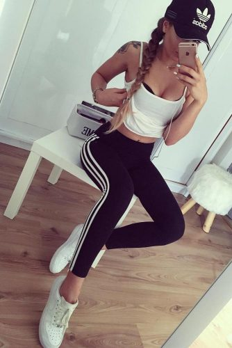 Comfy Adidas Pants Outfit Ideas picture 2