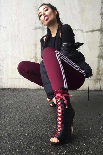 Comfy Adidas Pants Outfit Ideas picture 4