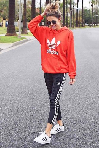 Popular Adidas Pants Outfit Ideas picture 2