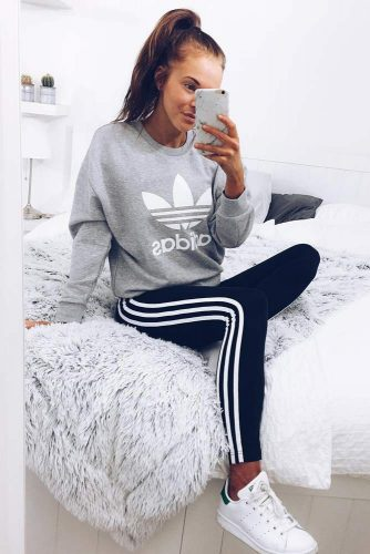 Popular and Chic Adidas Pants Outfits picture 5