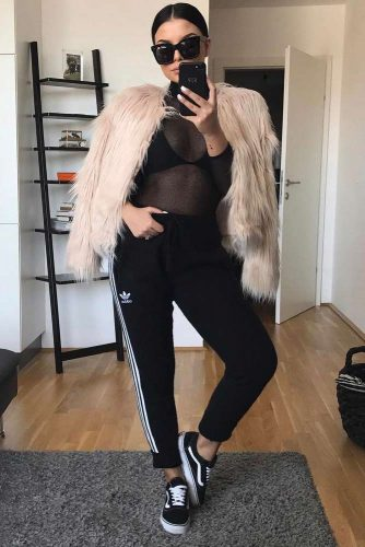 adidas pants outfit