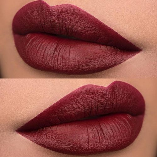 Sexy Maroon Matte Lipstick - Choose your Favorite Shade picture 1