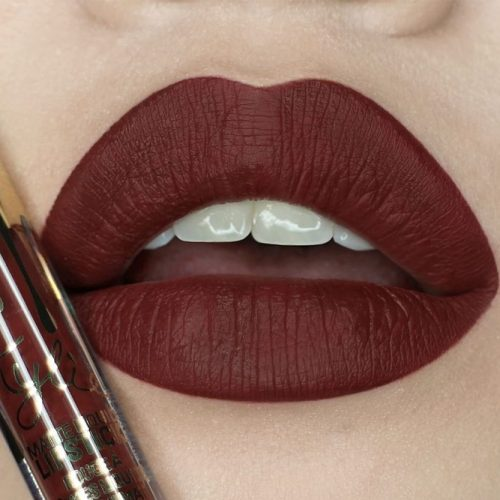 Sexy Maroon Matte Lipstick - Choose your Favorite Shade picture 2