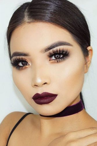 Perfect Looks with Maroon Matte Lipstick picture 6