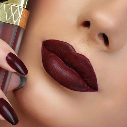 Trendy Maroon Lipstick Shades picture 2