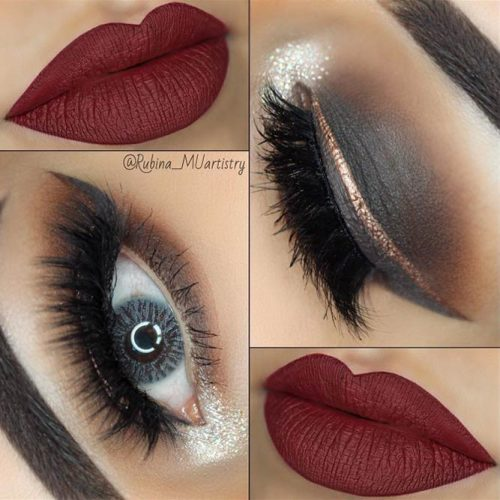 Maroon Matte Lipstick to Look Glamorous picture3