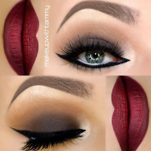 Maroon Matte Lipstick to Look Glamorous picture5