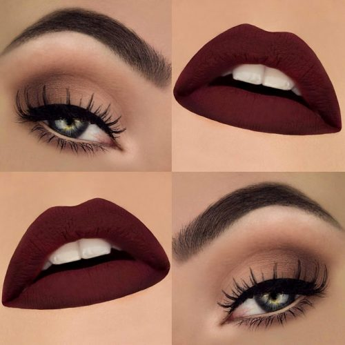Maroon Matte Lipstick to Look Glamorous picture1