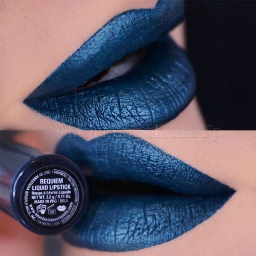 Beautiful Blue Lipstick Shades picture 4