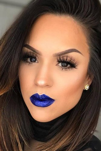 Amazing Makeup Looks with Blue Lipstick picture 5