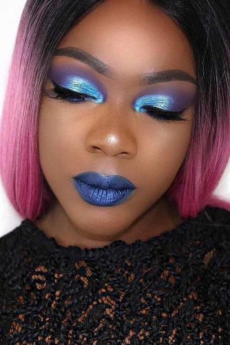 Trending Makeup Ideas with Blue Lipstick picture 6