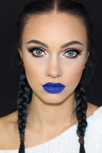 Amazing Makeup Looks with Blue Lipstick picture 3