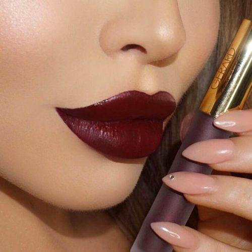Wonderful Burgundy Lipstick Matte picture1