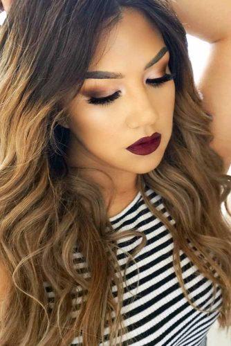 Burgundy Lipstick Matte Shades picture1