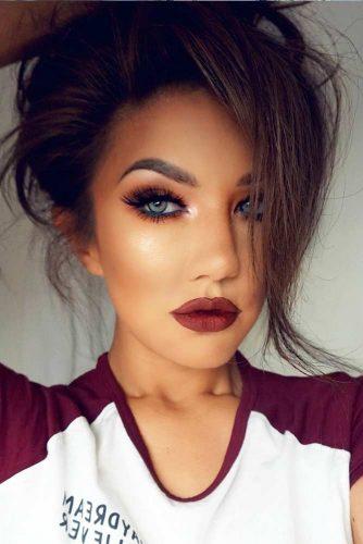 Burgundy Lipstick Matte Shades picture5