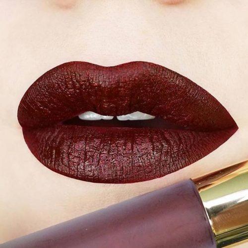 Wonderful Burgundy Lipstick Matte picture2
