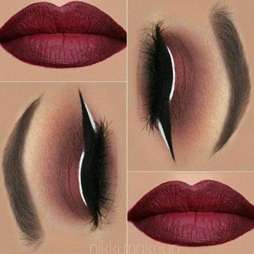 Stylish Burgundy Lipstick Matte picture3