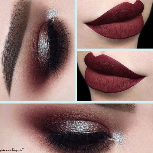 36 variations of burgundy lipstick matte for all skin tones