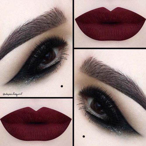Stylish Burgundy Lipstick Matte picture6