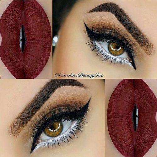 Trendy Burgundy Lipstick Matte picture2