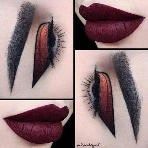 Trendy Burgundy Lipstick Matte picture6