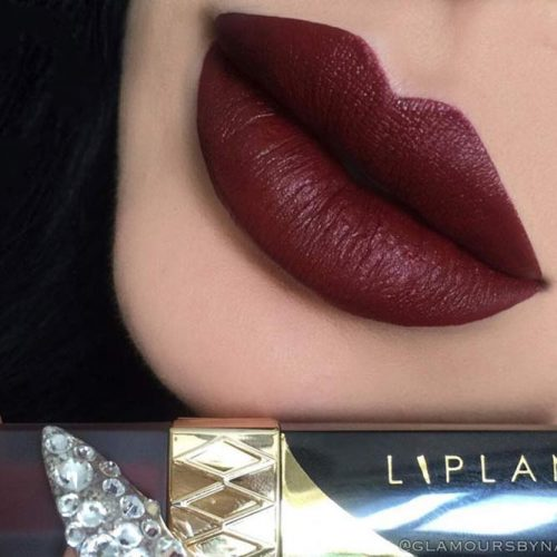 Chic Burgundy Lipstick Matte picture1
