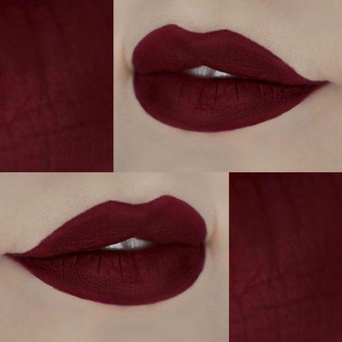 Chic Burgundy Lipstick Matte picture5