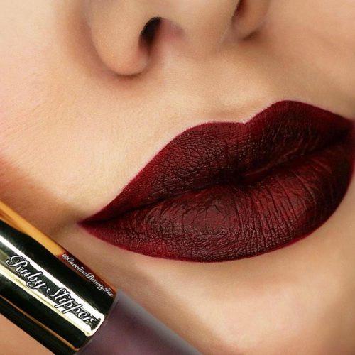 Wonderful Burgundy Lipstick Matte picture4