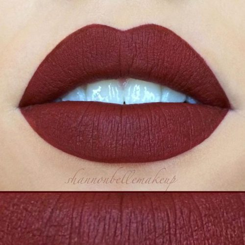 Wonderful Burgundy Lipstick Matte picture5