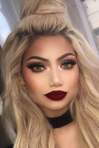 Variations Of Burgundy Lipstick Matte picture1