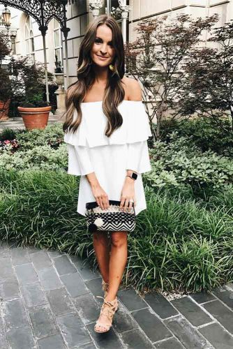 Black and White Casual Dress Ideas picture 1