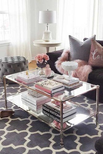 Glasses Coffee Table Design #glassestable