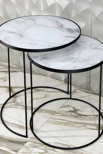 Coffee Table Designs With Marble Tops #marbletabletop