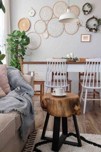 Rustic Minimalist Coffee Table Design #rusticcoffetable