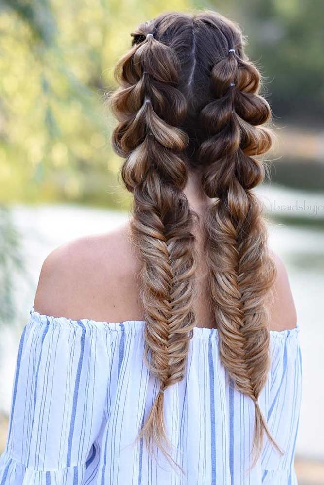 Double Braids In Hairstyles picture 4
